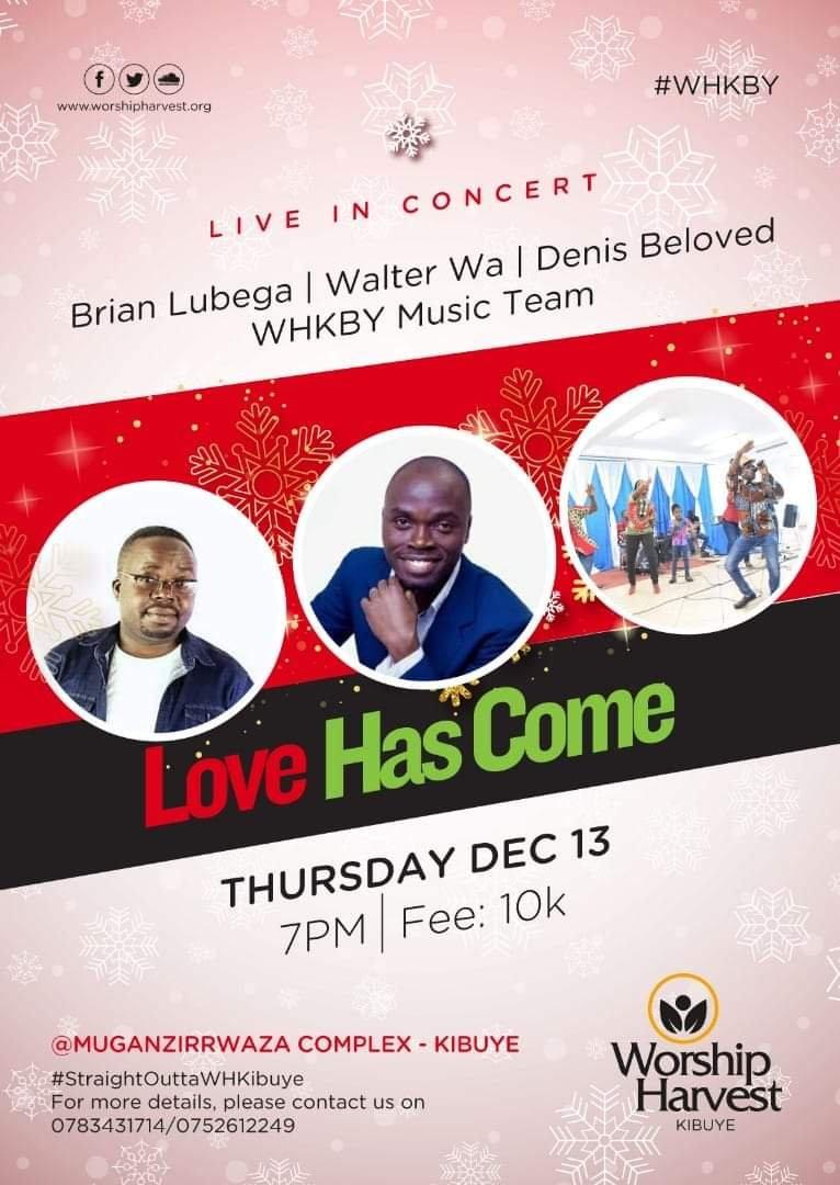 Love Has Come-A concert