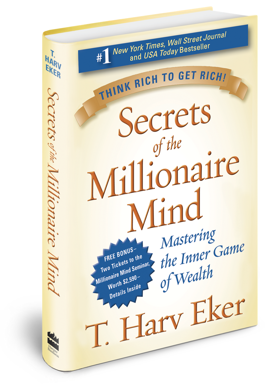 Book review 12: Secrets of a Millionaire Mind