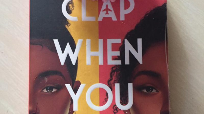 MAY BOOK TALES: CLAP WHEN YOU LAND BY ELIZABETH ACEVEDO